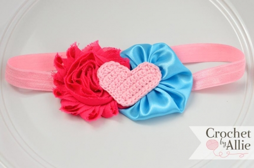 Chic Heart Headband