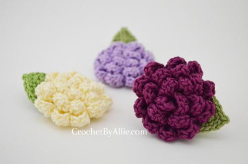 Mini Sophia Flower Clip