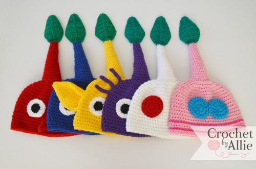 Pikmin Hat Bundle