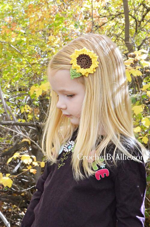 Sunflower Clip