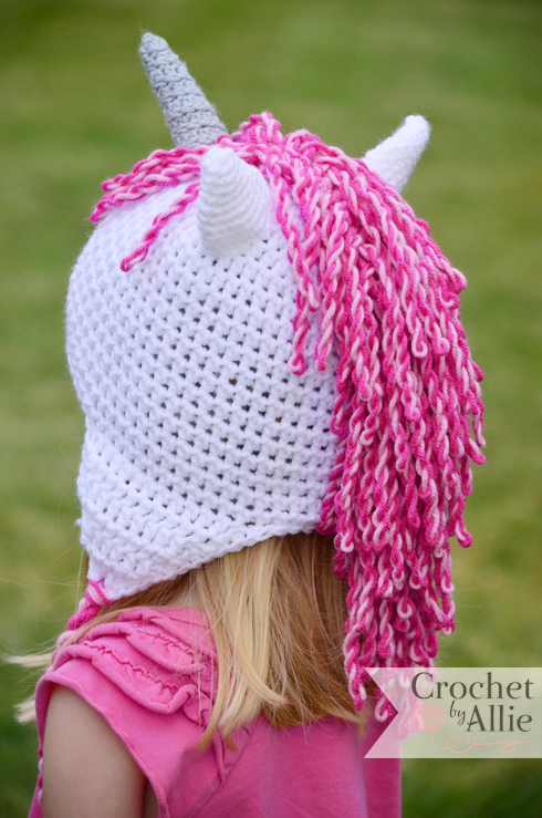 Unicorn Hat Custom Crochet hats and accessories