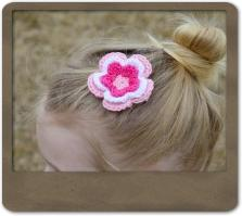Heather Flower Clip