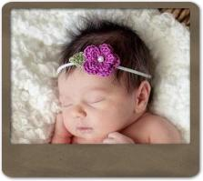 Lindsey Flower Headband
