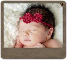Mini Bow Headband