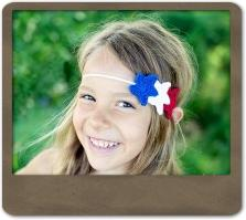 Patriotic Star Headband