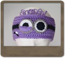 Purple Minion Headband
