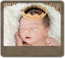 Tiny Newborn Crown