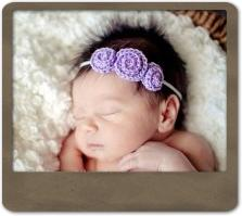 Triple Rosebud Headband