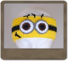 Yellow Minion Headband