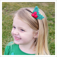 Holly Berry Headband