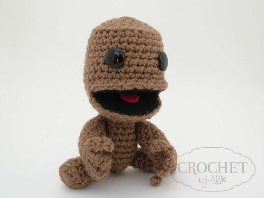 Little sackboy custom crochet hats and accessories i constructed him from a couple different free patterns and some improvising i think he turned out quite well dt1010fo